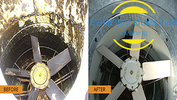 Exhaust Fan Cleaning and Repair